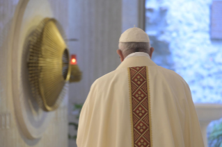 "12-Holy Mass presided over by Pope Francis at the Casa Santa Marta in the Vatican: ""Jesus is our pilgrim companion"""