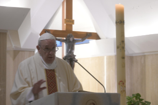 "2-Holy Mass presided over by Pope Francis at the Casa Santa Marta in the Vatican: ""The small everyday lynching of gossip"""