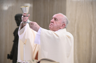 "6-Holy Mass presided over by Pope Francis at the Casa Santa Marta in the Vatican: ""Learning to live in moments of crisis"""
