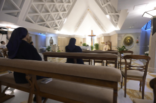 "9-Holy Mass presided over by Pope Francis at the Casa Santa Marta in the Vatican: ""We all have one Shepherd: Jesus"""
