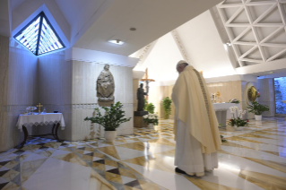 "11-Holy Mass presided over by Pope Francis at the Casa Santa Marta in the Vatican: ""We all have one Shepherd: Jesus"""