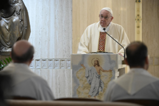 "4-Holy Mass presided over by Pope Francis at the Casa Santa Marta in the Vatican: ""Attitudes that prevent us from knowing Christ"""