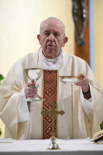 "11-Holy Mass presided over by Pope Francis at the Casa Santa Marta in the Vatican: ""Attitudes that prevent us from knowing Christ"""