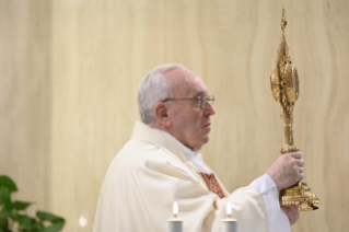 "12-Holy Mass presided over by Pope Francis at the Casa Santa Marta in the Vatican: ""Attitudes that prevent us from knowing Christ"""