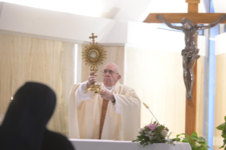 "12-Holy Mass presided over by Pope Francis at the Casa Santa Marta in the Vatican: ""Having the courage to see through our darkness, so the light of the Lord may enter and save us"""