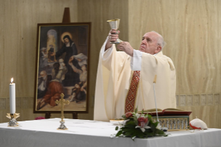 6-Holy Mass presided over by Pope Francis at the Casa Santa Marta in the Vatican:
