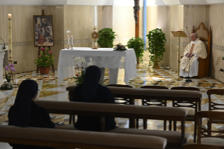8-Holy Mass presided over by Pope Francis at the Casa Santa Marta in the Vatican: