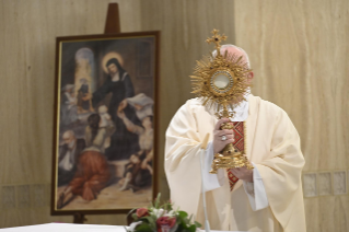 10-Holy Mass presided over by Pope Francis at the Casa Santa Marta in the Vatican:
