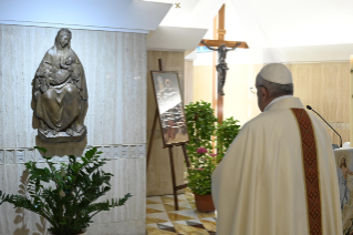 11-Holy Mass presided over by Pope Francis at the Casa Santa Marta in the Vatican: