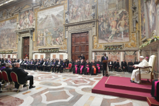 2-To the Diplomatic Corps accredited to the Holy See for the traditional exchange of New Year Greetings