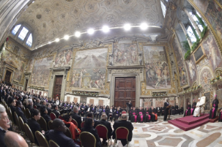 5-To the Diplomatic Corps accredited to the Holy See for the traditional exchange of New Year Greetings