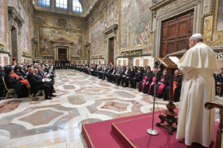 8-To the Diplomatic Corps accredited to the Holy See for the traditional exchange of New Year Greetings