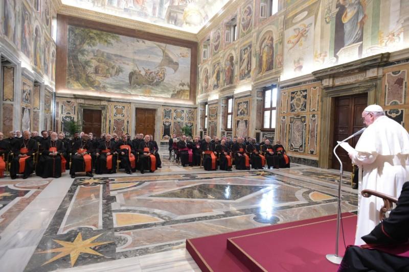Discurso del Papa a Doctrina de la Fe