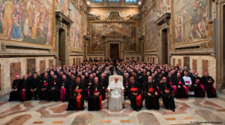 "0-To participants in the Convention sponsored by the Congregation for the Clergy on the occasion of the 50th anniversary of the Conciliar Decrees ""Optatam Totius"" and ""Presbyterorum ordinis"""