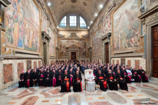 "3-To participants in the Convention sponsored by the Congregation for the Clergy on the occasion of the 50th anniversary of the Conciliar Decrees ""Optatam Totius"" and ""Presbyterorum ordinis"""