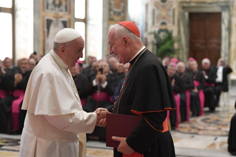El Papa saluda a Ouellet