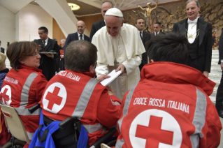 7-To members of the Italian Red Cross