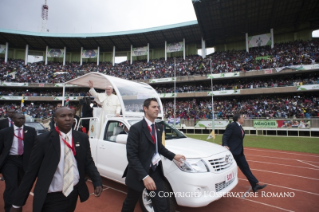 15-Apostolic Journey: Meeting with the young people at Kasarani Stadium