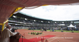 22-Apostolic Journey: Meeting with the young people at Kasarani Stadium