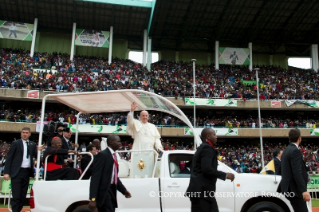 24-Apostolic Journey: Meeting with the young people at Kasarani Stadium