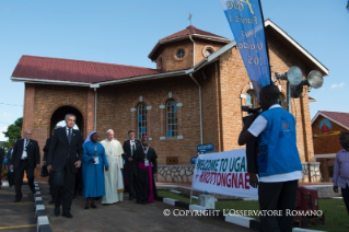 2-Apostolic Journey: Visit to the Charitable Centre of Nalukolongo
