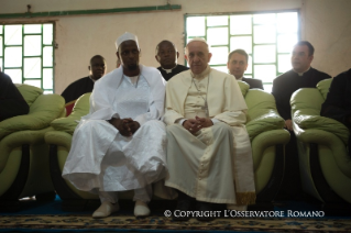 3-Apostolic Journey: Meeting with the Muslim Community in Bangui