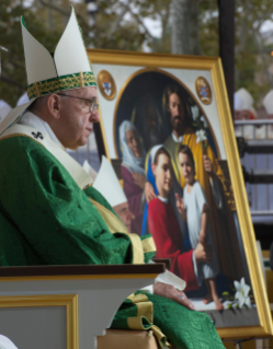 0-Apostolic Journey: Mass for the conclusion of the Eighth World Meeting of Families