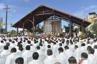 3-Apostolic Journey: Holy Mass in Christ the Redeemer Square (Santa Cruz de la Sierra)