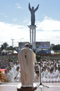17-Apostolic Journey: Holy Mass in Christ the Redeemer Square (Santa Cruz de la Sierra)