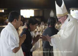 6-Apostolic Journey to Mexico: Holy Mass in the Basilica of Guadalupe
