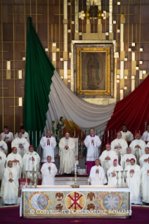 17-Apostolic Journey to Mexico: Holy Mass in the Basilica of Guadalupe