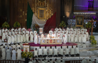 19-Apostolic Journey to Mexico: Holy Mass in the Basilica of Guadalupe