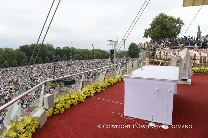 Apostolische Reise Nach Polen Heilige Messe Zum 1050