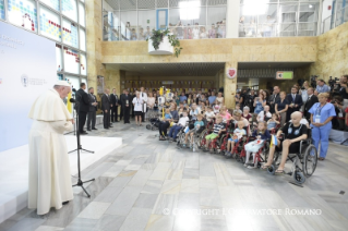 10-Apostolic Journey to Poland: Visit to the Children's University Hospital (UCH)