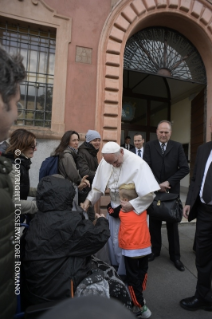 15-Pastoral Visit: Meeting with the people affected by the earthquake in Piazza Duomo