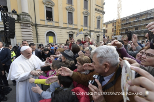 22-Pastoral Visit: Meeting with the people affected by the earthquake in Piazza Duomo