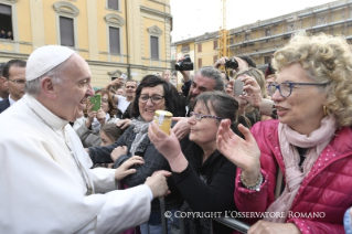 21-Pastoral Visit: Meeting with the people affected by the earthquake in Piazza Duomo