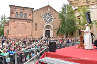 9-Pastoral Visit to Bologna: Encounter with students and representatives of the Academic world
