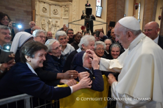 7-Pastoral Visit to Cesena: Meeting with the clergy, consecrated, lay people participating in pastoral Councils, members of the Curia and Parish representatives