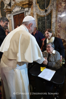 11-Pastoral Visit to Cesena: Meeting with the clergy, consecrated, lay people participating in pastoral Councils, members of the Curia and Parish representatives