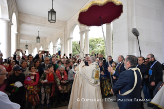 2-Pilgrimage to Fátima: Greeting of the Holy Father to the sick
