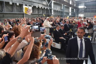 0-Pastoral Visit to Genoa: Encounter with representatives of the world of work