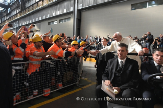 5-Pastoral Visit to Genoa: Encounter with representatives of the world of work