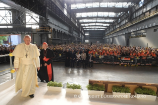 4-Pastoral Visit to Genoa: Encounter with representatives of the world of work