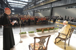 11-Pastoral Visit to Genoa: Encounter with representatives of the world of work