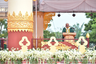 5-Apostolic Journey to Myanmar: Holy Mass