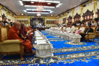 2-Apostolic Journey to Myanmar: Meeting with the Supreme