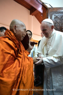 7-Apostolic Journey to Myanmar: Meeting with the Supreme