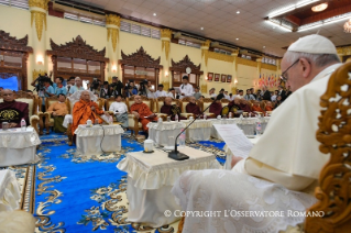 10-Apostolic Journey to Myanmar: Meeting with the Supreme