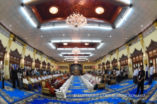 11-Apostolic Journey to Myanmar: Meeting with the Supreme